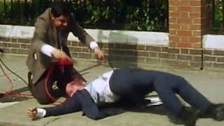 Bean shocks Man To Life | Mr. Bean Official