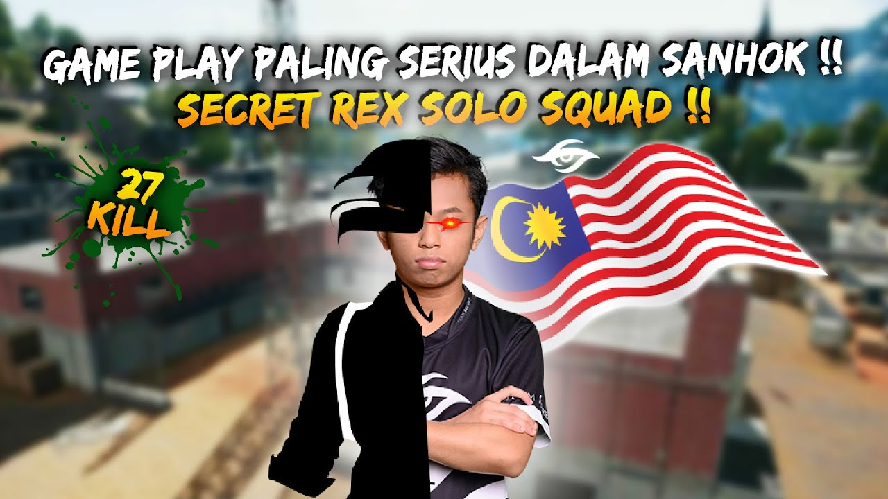 Rusher Of Team Secret !! Secret Rex Sapu Bersih Penduduk Sanhok | Rex GamePlay | Pubg Mobile