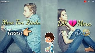 💔💔 Very Sad Whatsapp Status Song 2018 💔💔 || AKHIAN || Happy Raikoti ft. || New Punjabi Song 2018