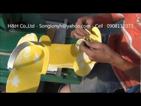 máy dập dép xốp, miếng ngăn cách ngón tay,ngón chân  dùng cho nghành nails