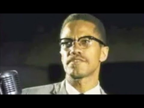MALCOLM X DEMOCRATIC FREEDOM PARTY SPEECH