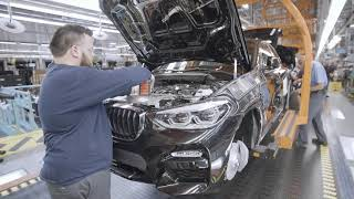 2019 BMW X4 Production