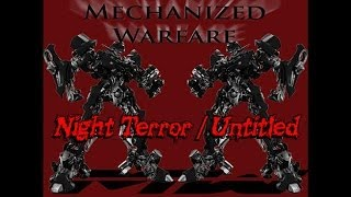 Mechanized Warfare - Night Terror / Untitled (2008)