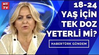 18-24 yaş için tek doz yeterli mi? Prof. Dr. Esin Davutoğlu Şenol yanıtladı