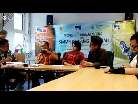 Workshop dan Siaran Kampung Halaman PPI di Jerman, bersama Radio Republik Indonesia (RRI)