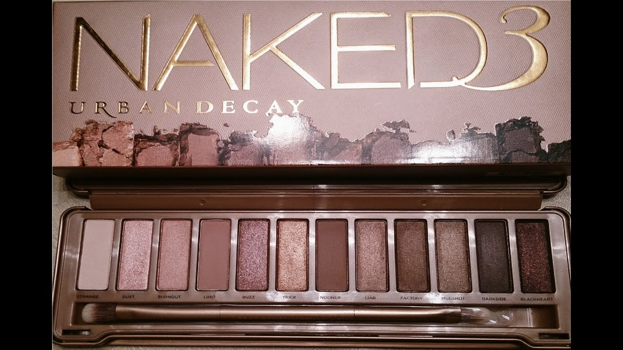 Urban Decay Naked 3 Tutorial: Rose Gold - YouTube