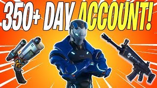 INSANE ACCOUNT OVERVIEW! 350+ Days On Fortnite | Fortnite Save The World