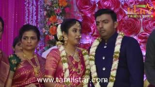 Actor Vagai Chandrasekar Daughter Wedding Reception