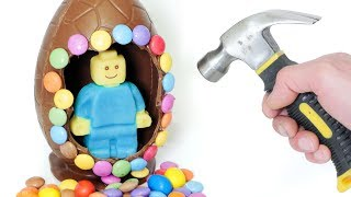 Easter Egg Surprise - Lego Style Figure