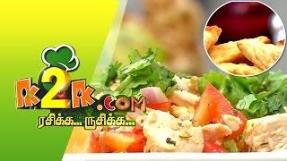 Rasikka Rusikka 16-05-2015 Macaroni Samosa & Chicken Salad