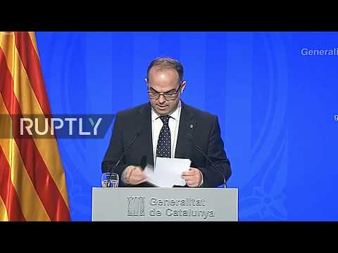 LIVE: Catalan Government press conference after Executive Council meeting