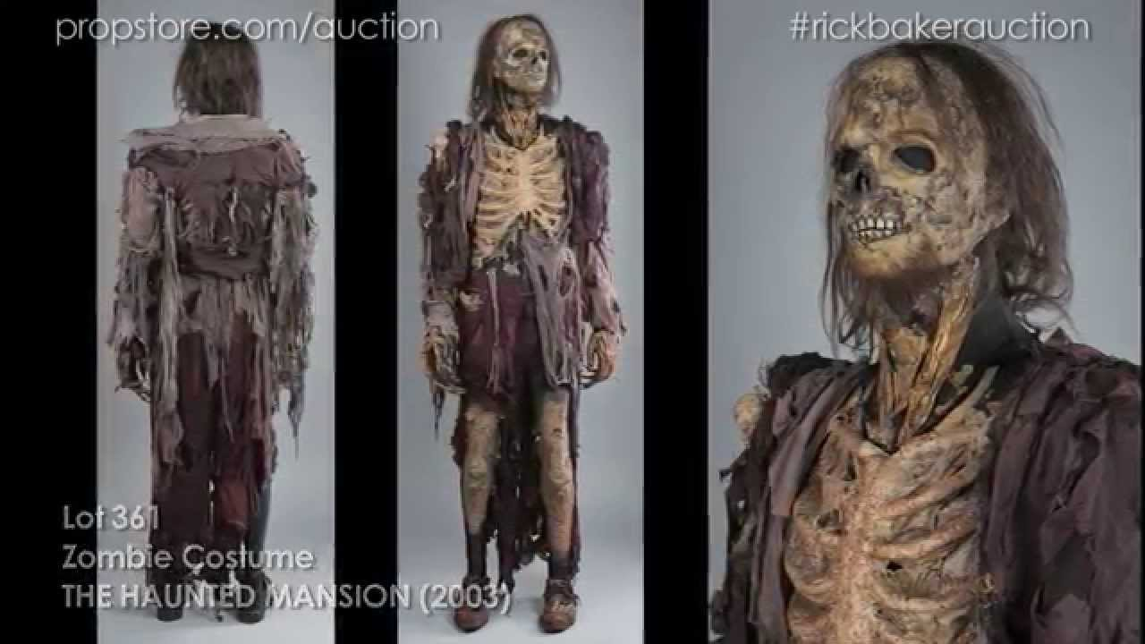 rick baker online auction lot 361 the haunted mansion zombie costume