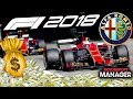 FINAL RACE! 80+ MILLION TO SPEND! - F1 2018 Alfa Romeo Manager Career Part 16
