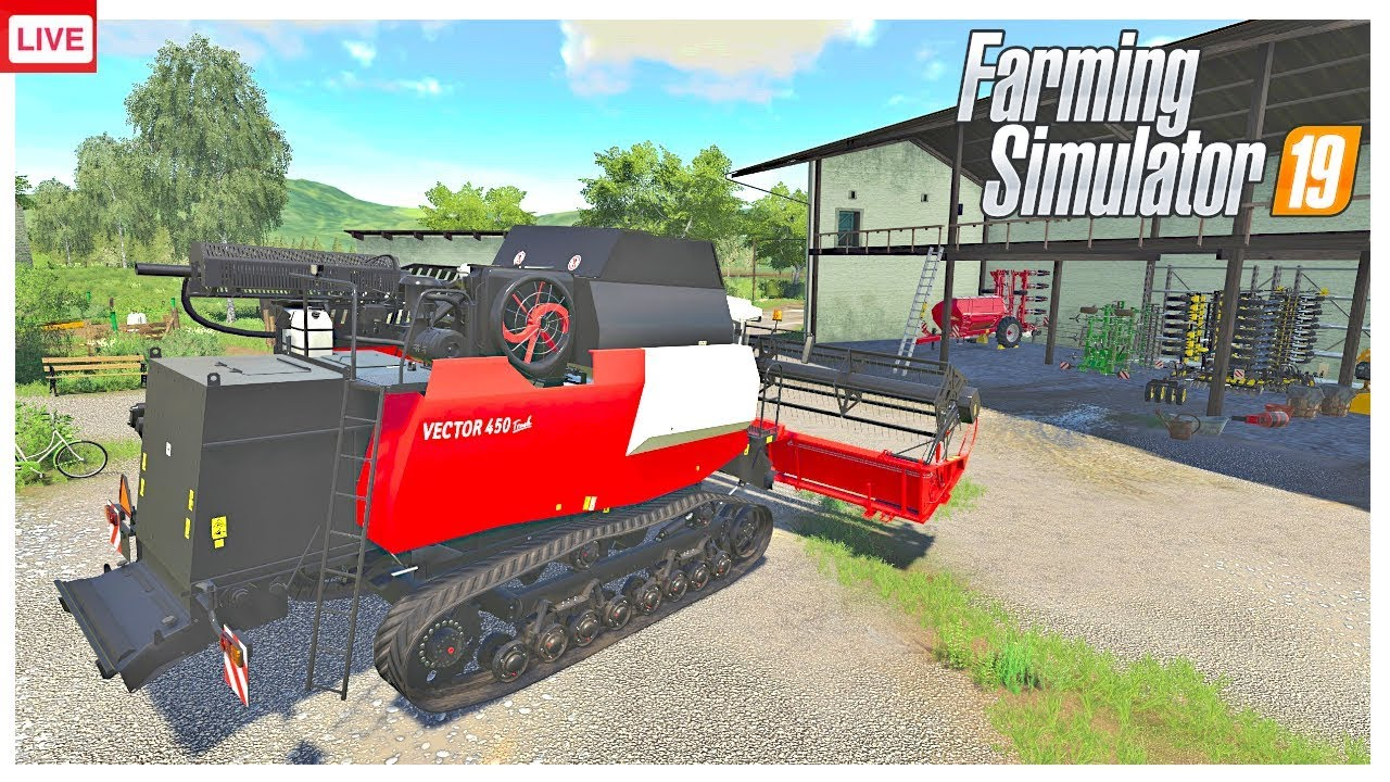🔴 LIVE, BRINGING THE VECTOR BACK TO THE FARM |THE VALLEY THE OLD FARM | FARMING SIMULATOR 19