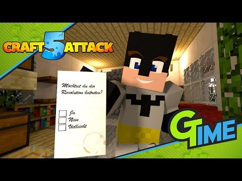 Meine ENTSCHEIDUNG zum BEITRITT der REVOLUTION! - Minecraft Craft Attack 5 #37 | Gamerstime