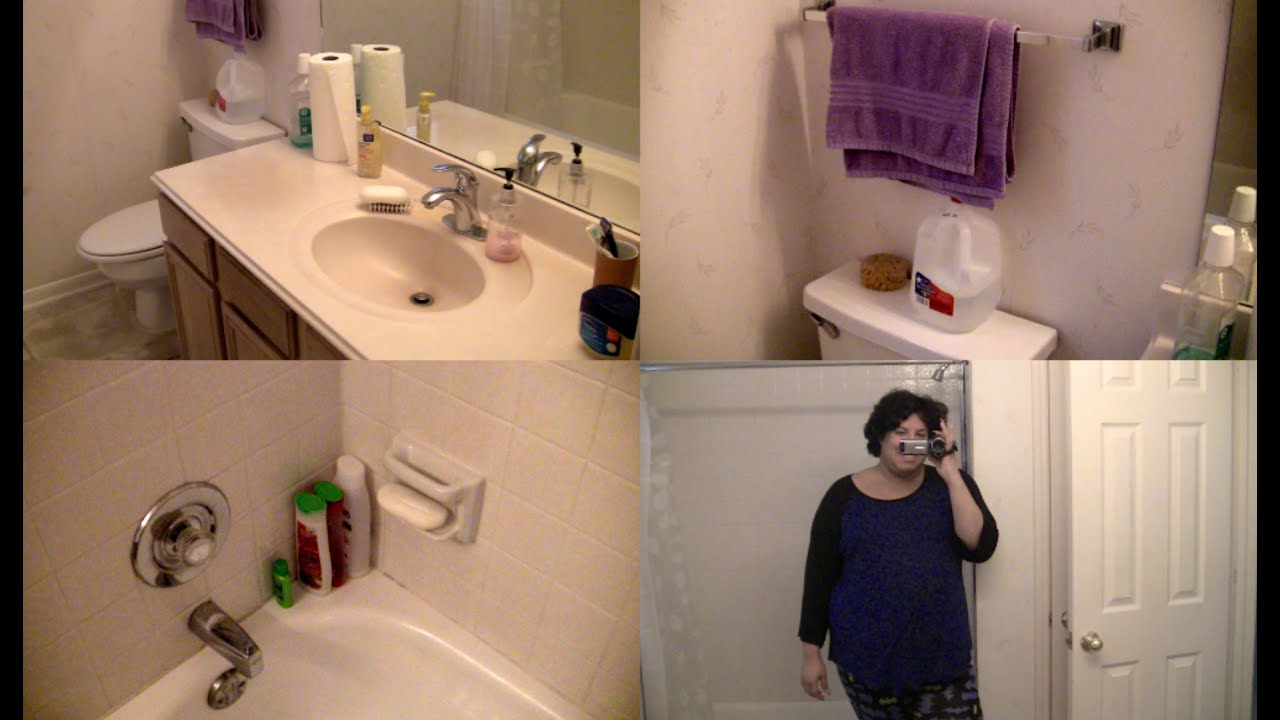 What 39 s in my bathroom shower tour 2015 youtube for What s new in bathrooms 2015