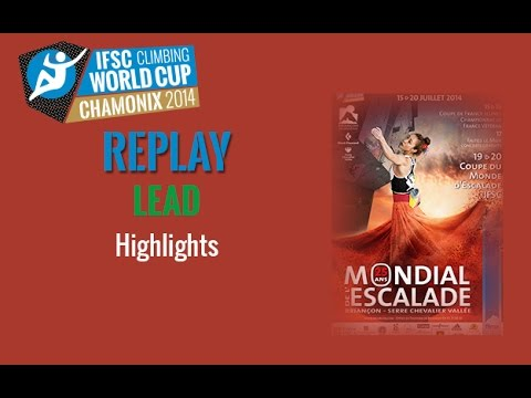 IFSC Climbing World Cup Briançon 2014 - Lead - Highlights