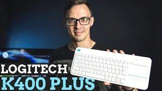 Logitech K400 Plus: клавиатура для телевизора