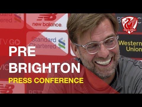Brighton vs. Liverpool | Jurgen Klopp Press Conference