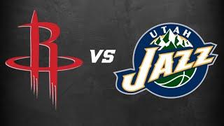 NBA PLAYOFFS Utah Jazz Vs. Houston Rockets Live Stream Reaction & Play By Play