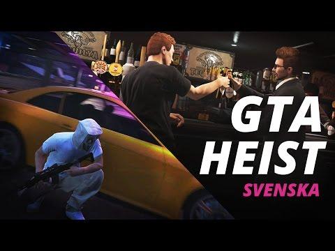 GTA Heist - Råna banken! (Svenska)
