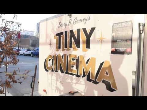 Davey B. Gravey's Tiny Cinema