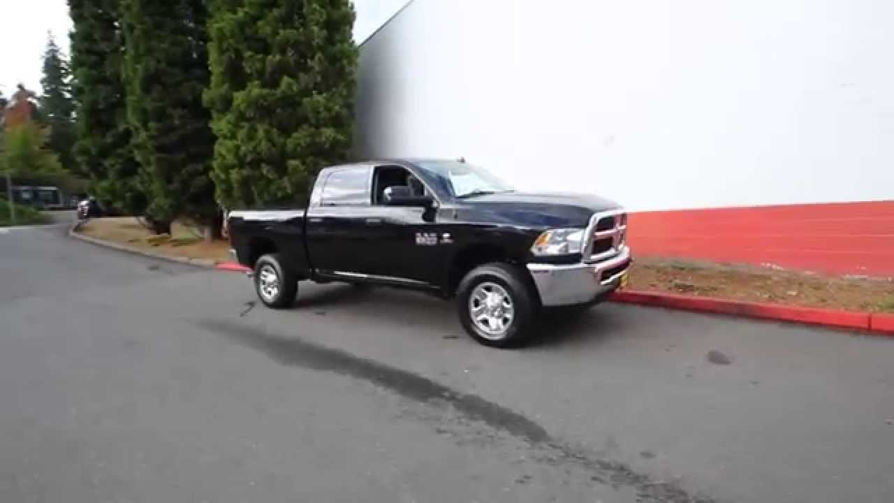 2016 Dodge Ram 2500 Slt Brilliant Black Gg101982 Redmond Seattle You