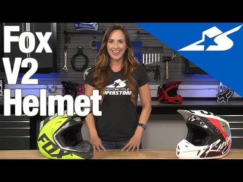 Fox V2 Helmet Review | Motorcycle Superstore
