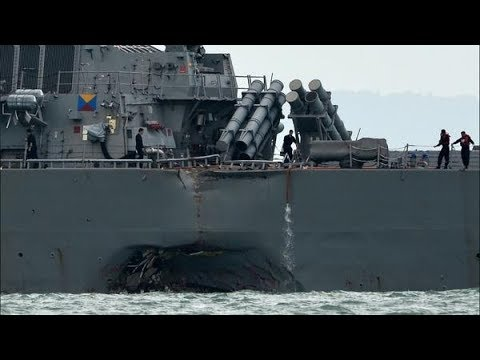 Sailors' Remains Found After Navy Destroyer Collision | Los Angeles Times