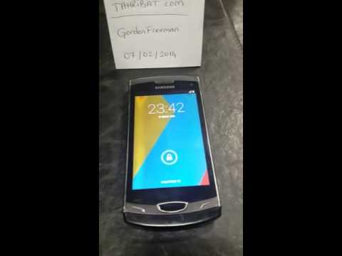 Samsung Wave 2 GT-S8530 Android 4.4 Kitkat