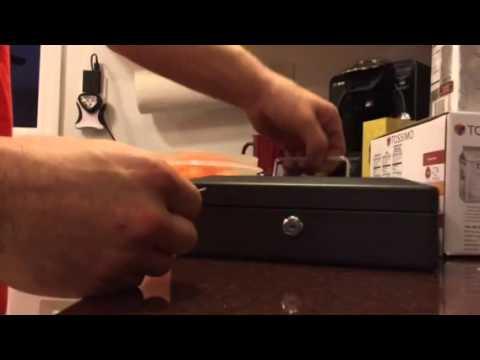 Sentry safe cheap break in cash box
