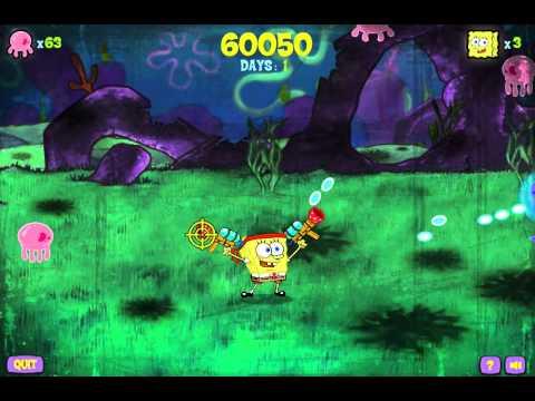 Спанч Боб стрелялка (SpongeBob Demolition Sponge)