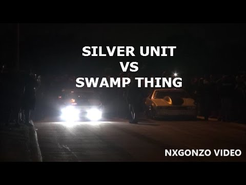Silver Unit VS Swamp Thing Longtop CASH DAYS