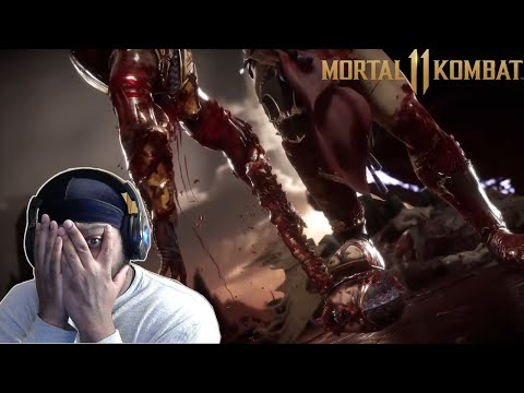 Reaction: Mortal Kombat 11 Aftermath: Official Gameplay Trailer  
