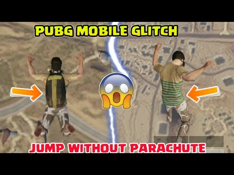 JUMP WITHOUT PARACHUTE IN PUBG MOBILE 【*GLITCH*】