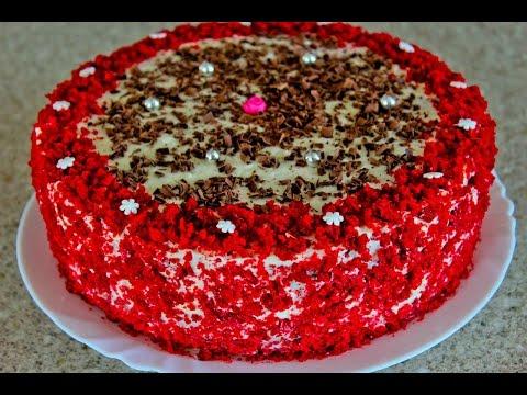 ТОРТ КРАСНЫЙ БАРХАТи КРЕМ-ЧИЗ, рецепт. Red velvet Cake