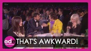 Jack Whitehall & Harry Styles Share Awkward Moment at BRIT Awards 2020