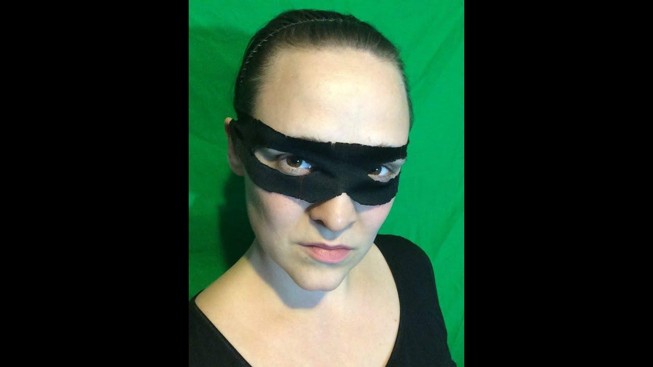 How To Make A Zorro Mask Tutorial
