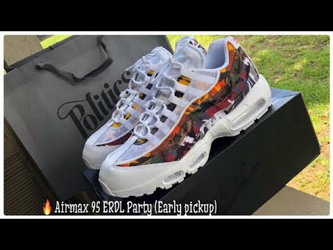 Nike Air Max 95 ERDL Party Sneakers </p>                     </div> 		  <!--bof Product URL --> 										<!--eof Product URL --> 					<!--bof Quantity Discounts table --> 											<!--eof Quantity Discounts table --> 				</div> 				                       			</dd> 						<dt class=