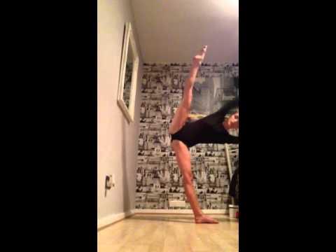 Leg tilts dancing shannan