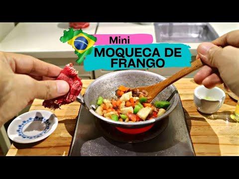 ASMR HOW TO COOK BRAZILIAN CHICKEN RECIPE (MOQUECA DE FRANGO)  (KIDS TOYS)