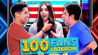 100 Fans Dijeron Ep. 16 | Parejas de YouTubers