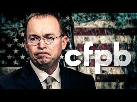 Head Of Consumer Protection Agency Asks Congress To Help Destroy His Department