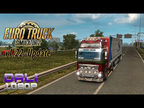 Euro Truck Simulator 2 v1.22 Update World of Trucks Contracts PC Gameplay 60fps 1080p