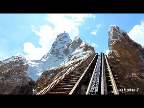 [HD] Mt. Everest Ride POV - Expedition Everest - Legend of the Forbidden Mountain