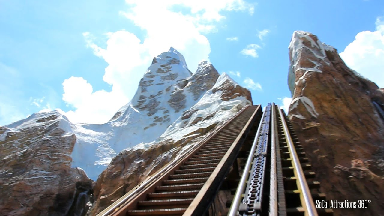 [HD] Mt  Everest Ride POV - Expedition Everest - Legend of the Forbidden  Mountain