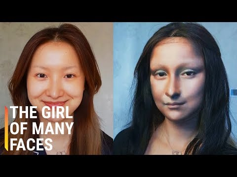Makeup Artist Transforms Completely Into Famous Characters thumbnail