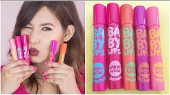 Maybelline Baby Lips Candy Wow Review & Swatches | GIVEAWAY (Closed)