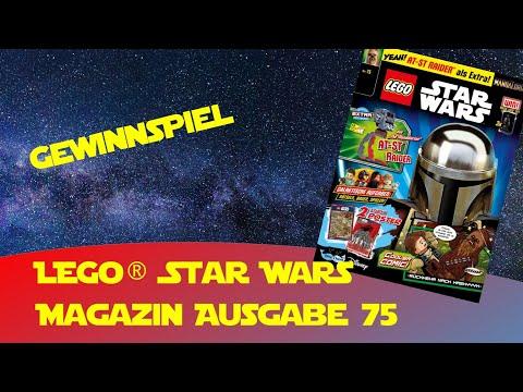 Lego Star Wars Magazin Ausgabe 75 AT ST Raider Gewinnspiel