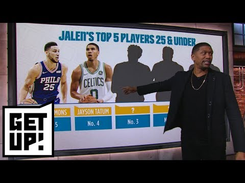 Top 5 NBA Players Under 25 according to Jalen Rose | Get Up!
